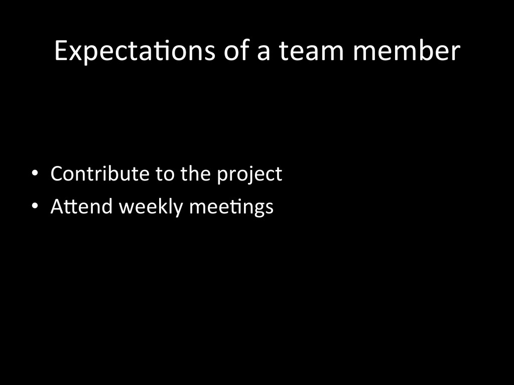Expecta3ons	