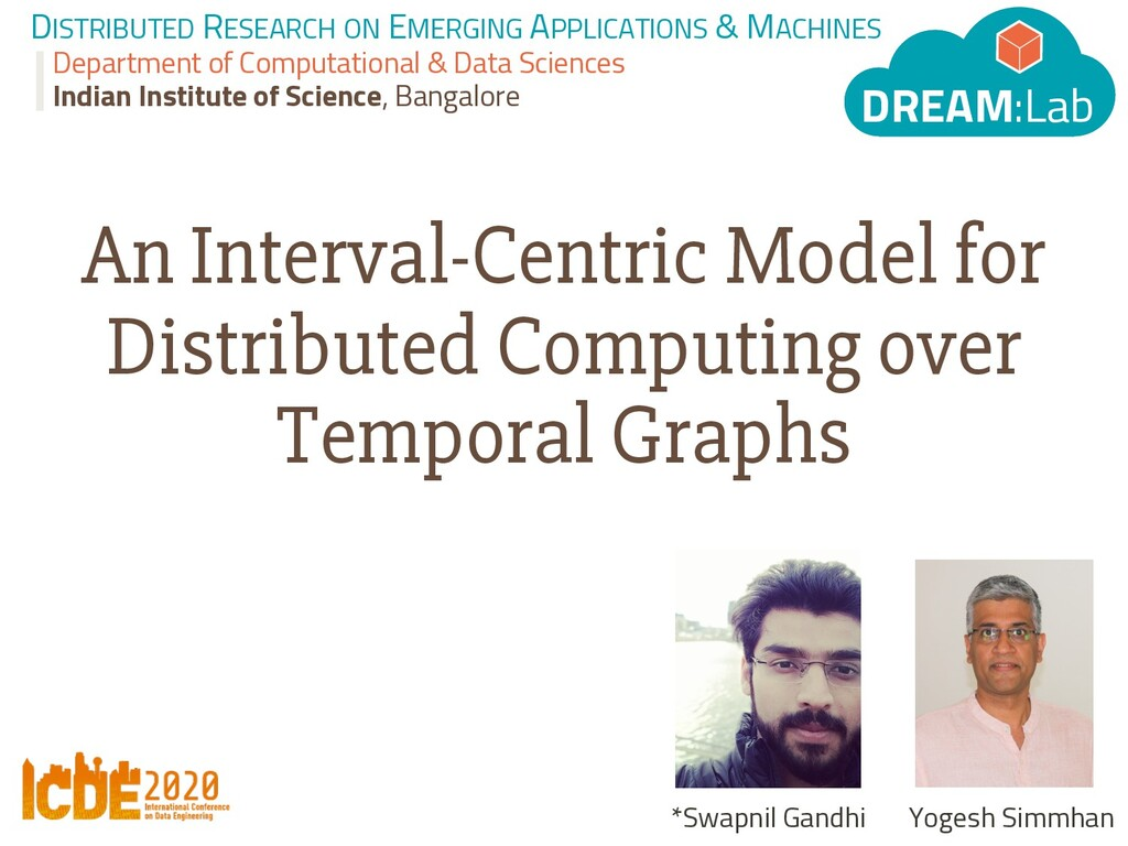 DISTRIBUTED RESEARCH ON EMERGING APPLICATIONS &...