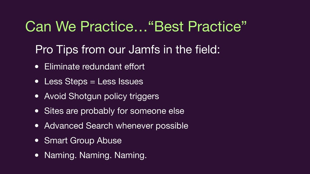 """Can We Practice…""""Best Practice"""" Pro Tips from o..."""