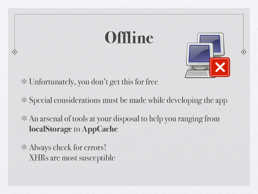 Offline Unfortunately, you don't get this for f...