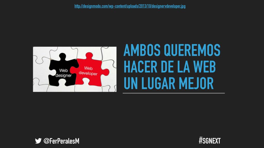 @FerPeralesM #SGNEXT AMBOS QUEREMOS HACER DE LA...