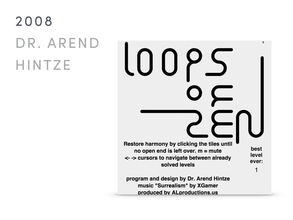 2008 DR. AREND  HINTZE