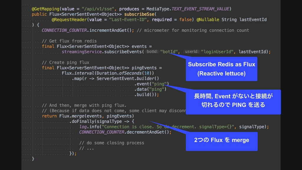 Subscribe Redis as Flux (Reactive lettuce) ؒ,...
