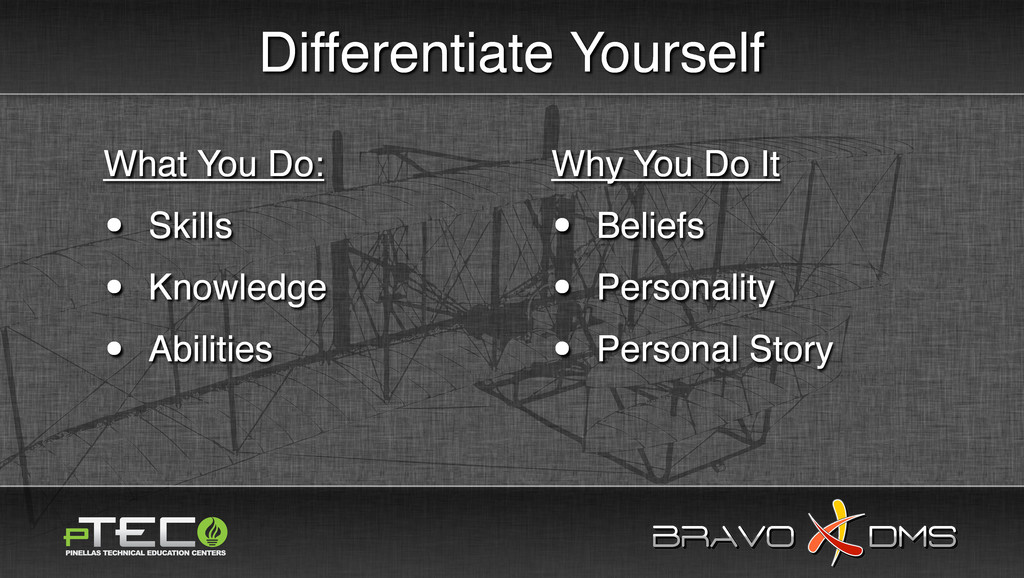 BRAVO DMS BRAVO DMS Differentiate Yourself What...