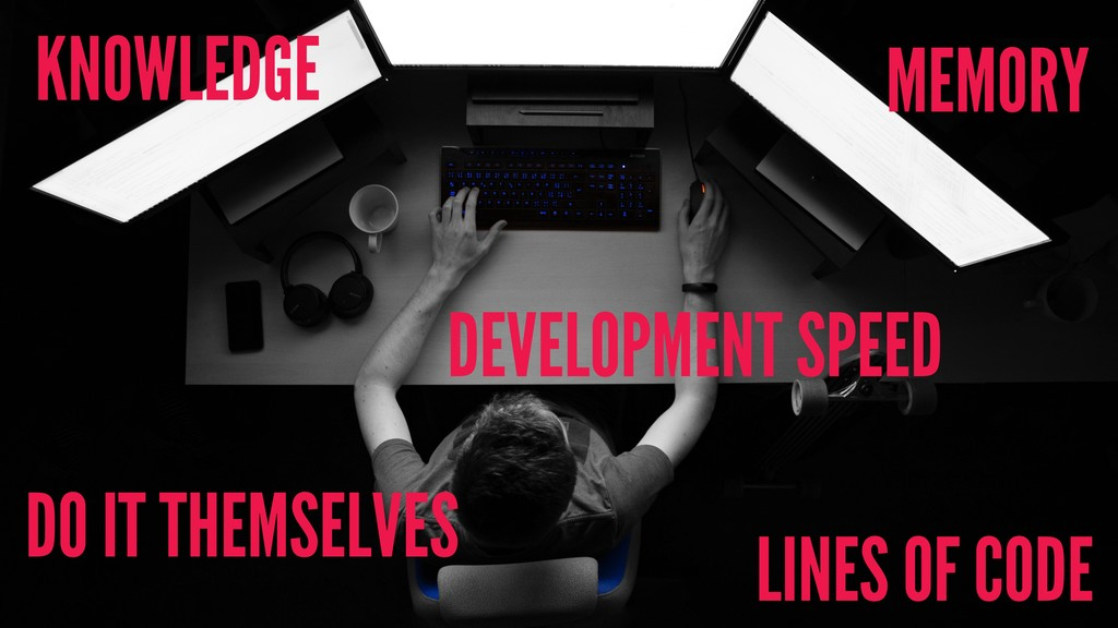 DO IT THEMSELVES LINES OF CODE DEVELOPMENT SPEE...