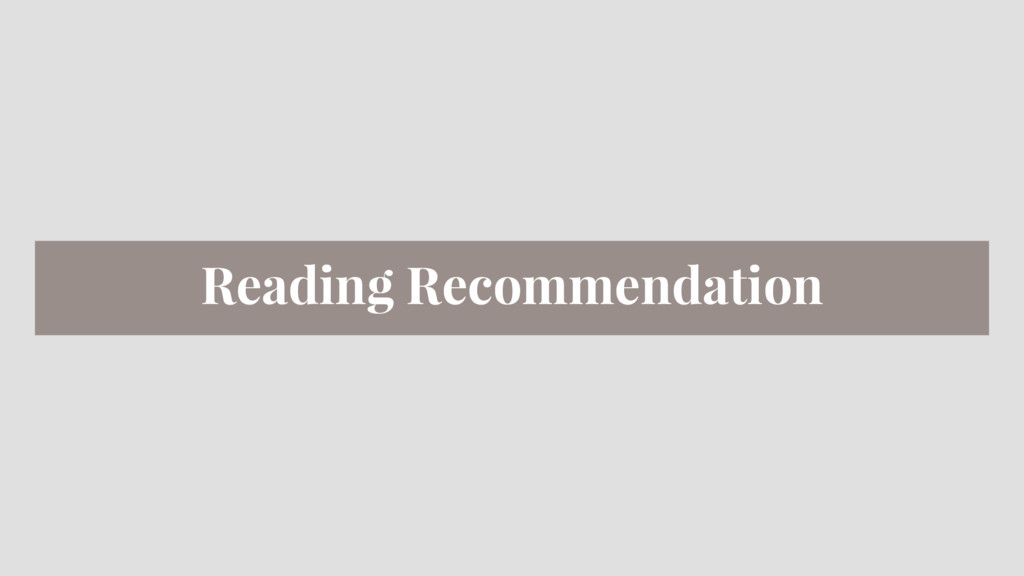 Reading Recommendation
