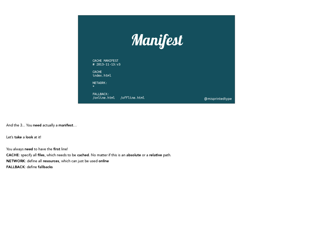 Manifest CACHE MANIFEST # 2013-11-13:v3 ! CACHE...