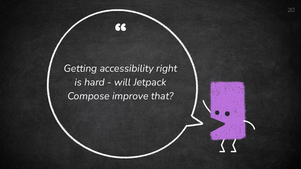 """"""" Getting accessibility right is hard - will Je..."""