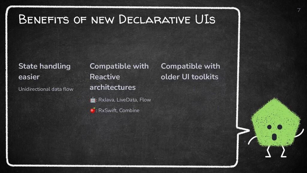 Benefits of new Declarative UIs State handling ...