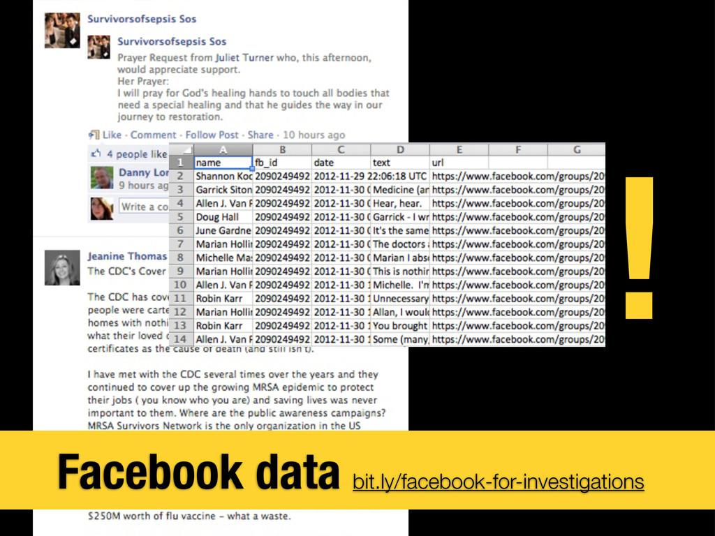 Facebook data bit.ly/facebook-for-investigation...