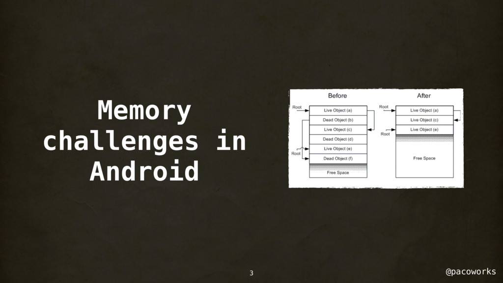 @pacoworks Memory challenges in Android 3