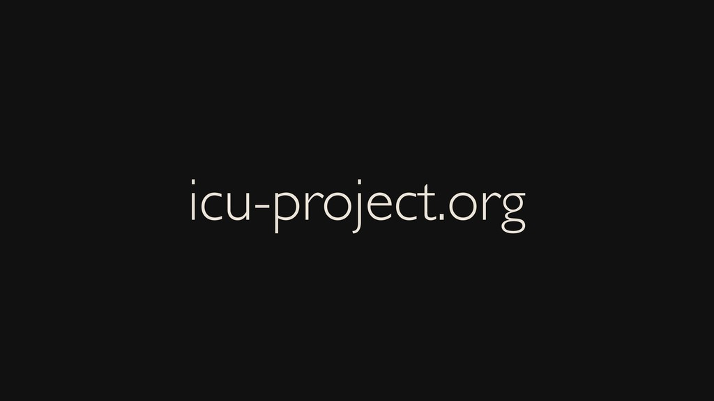 icu-project.org