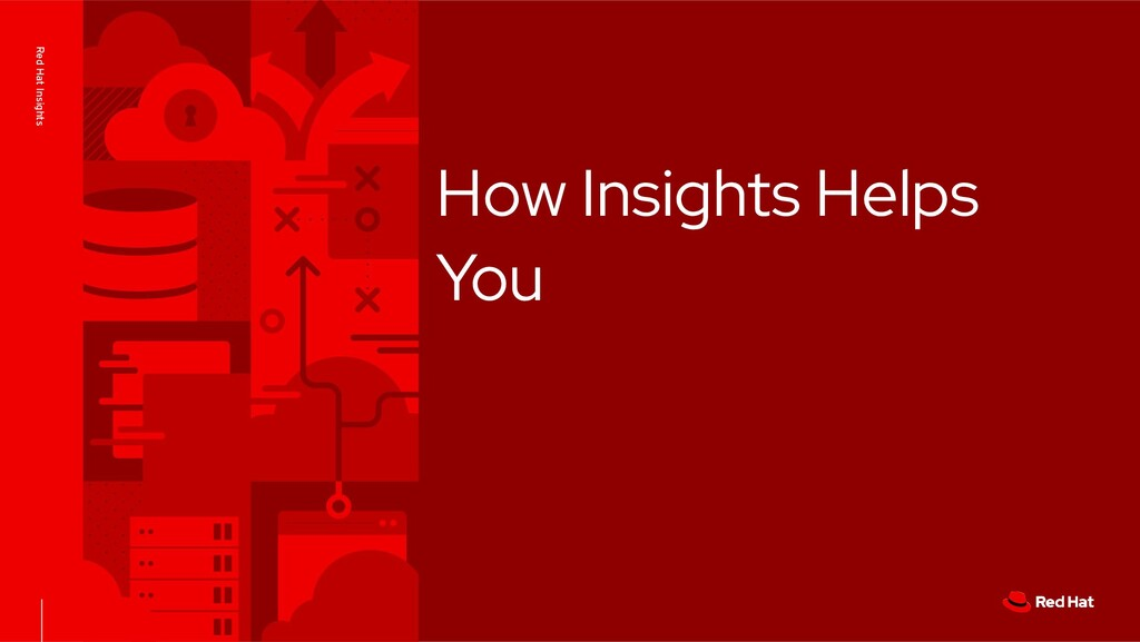 Red Hat Insights How Insights Helps You