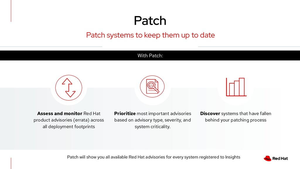 Patch systems to keep them up to date Assess an...