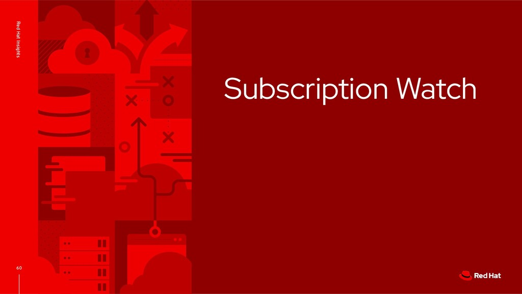 Subscription Watch 60 Red Hat Insights
