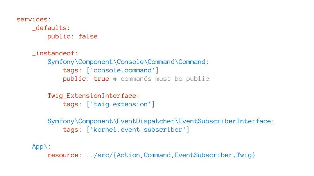 services: _defaults: public: false _instanceof:...
