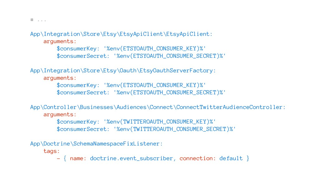 # ... App\Integration\Store\Etsy\EtsyApiClient\...