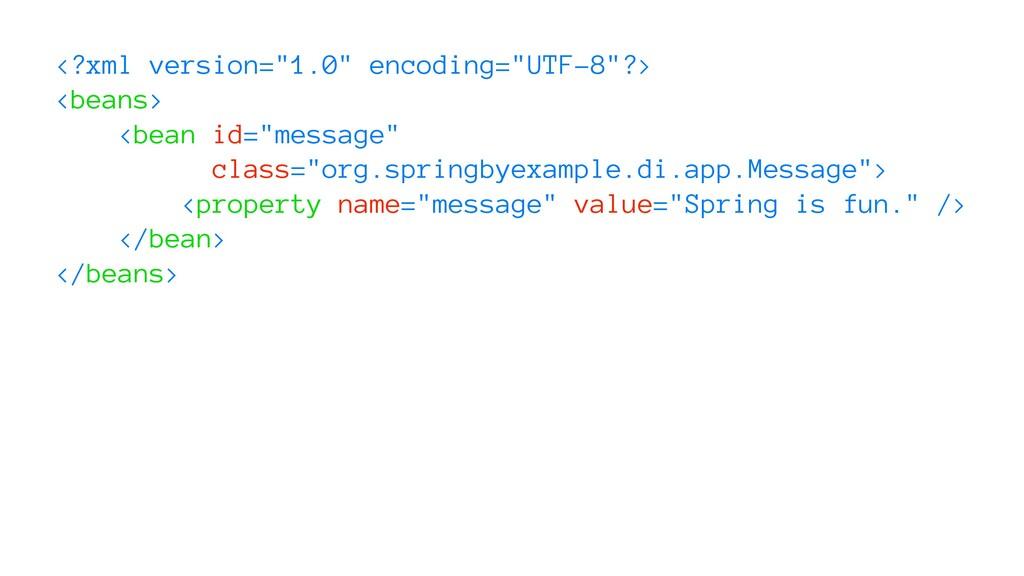 "<?xml version=""1.0"" encoding=""UTF-8""?> <beans> ..."