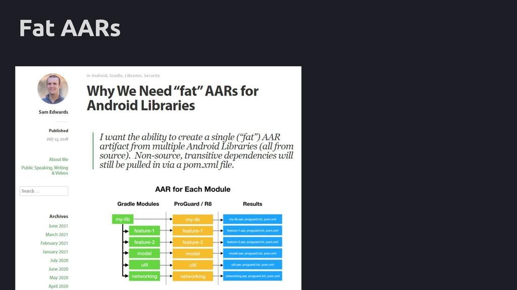 Fat AARs