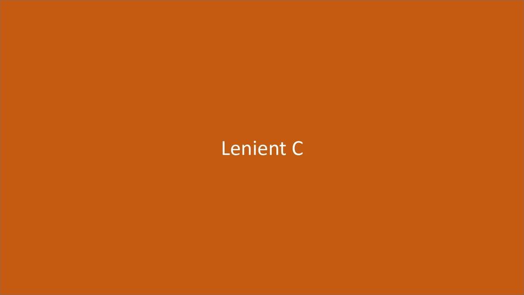 68 Lenient C