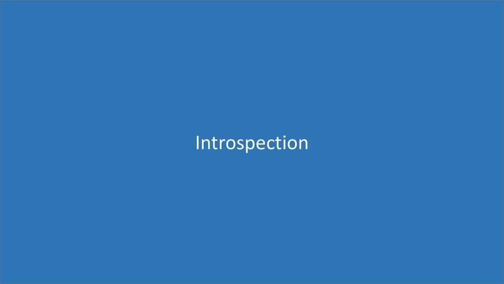 83 Introspection