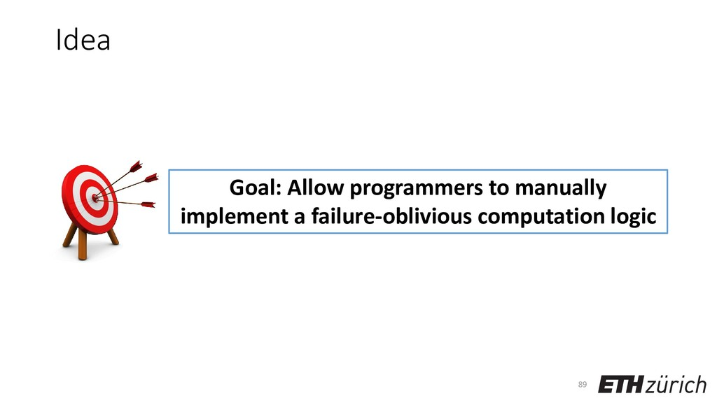 Idea 89 Goal: Allow programmers to manually imp...