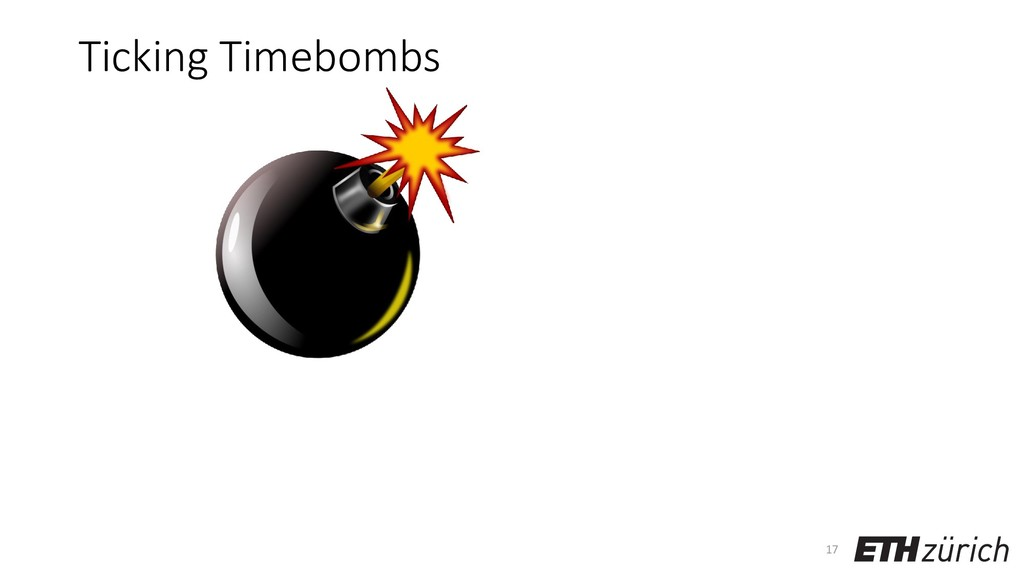 Ticking Timebombs 17
