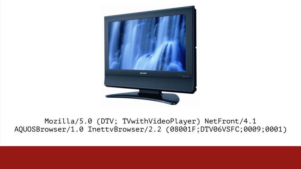 Mozilla/5.0 (DTV; TVwithVideoPlayer) NetFront/4...