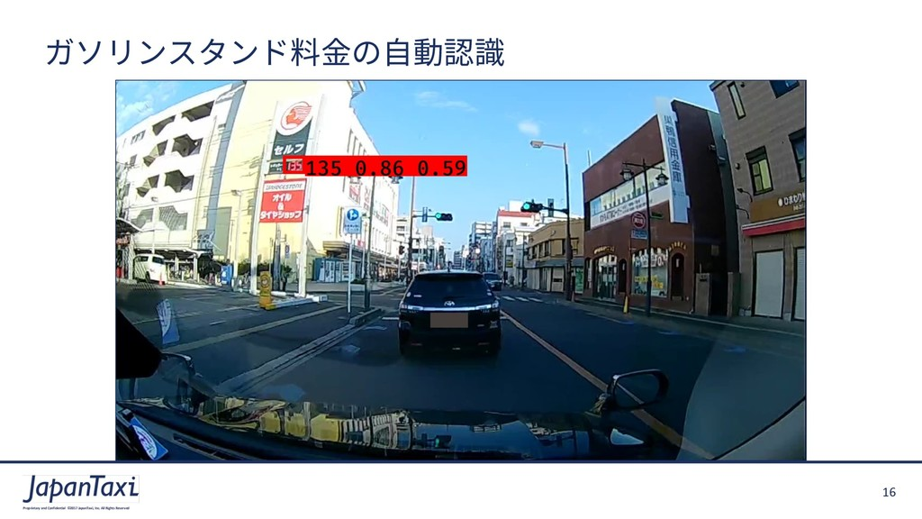 16 Proprietary and Confidential ©2017 JapanTaxi...
