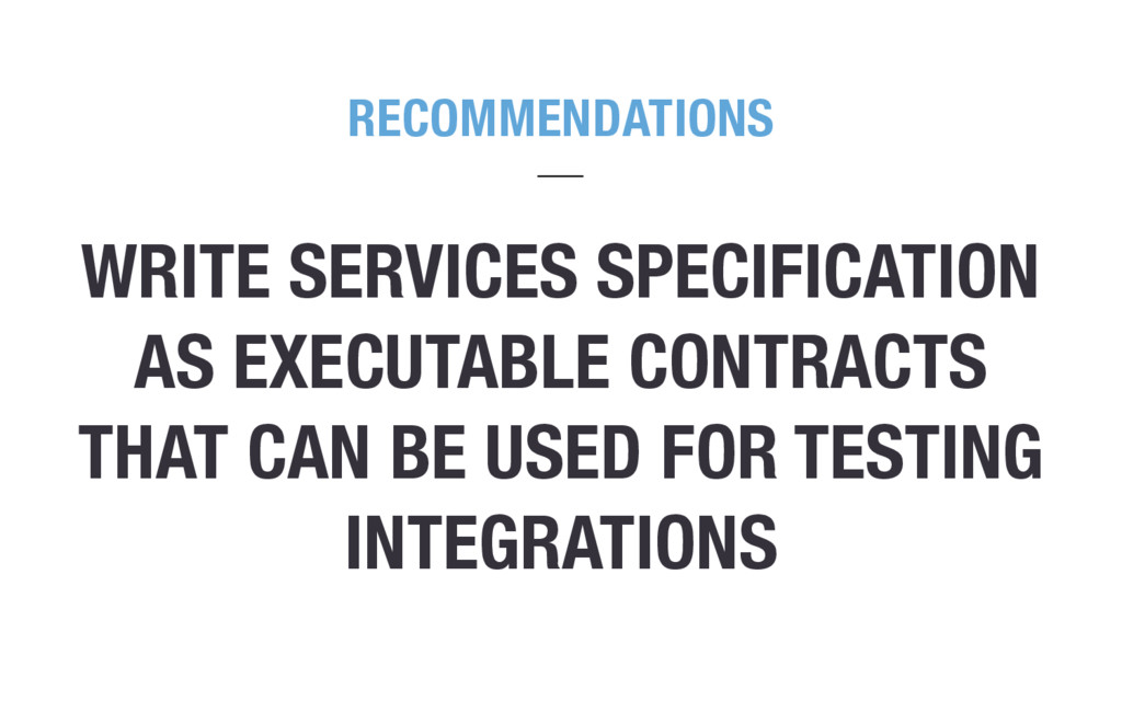 WRITE SERVICES SPECIFICATION AS EXECUTABLE CONT...