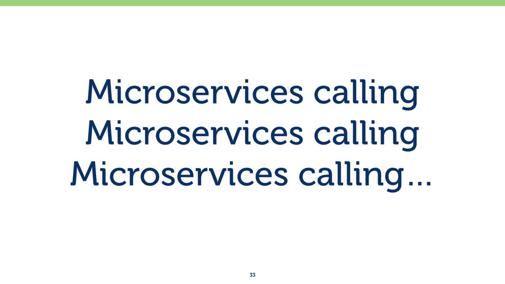 Microservices calling Microservices calling Mic...