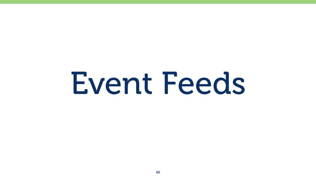 Event Feeds 50