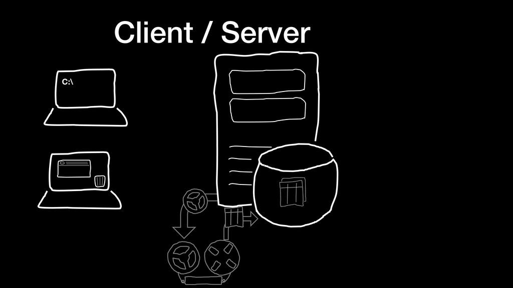 Client / Server C:\