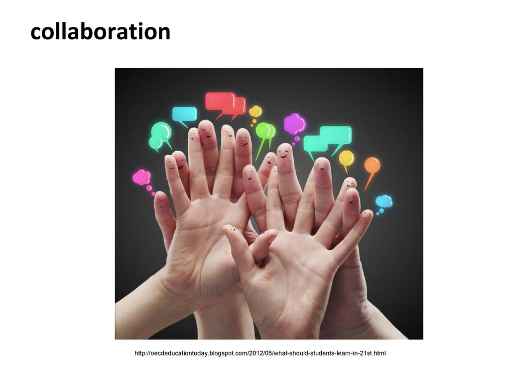 collaboration http://oecdeducationtoday.blogspo...