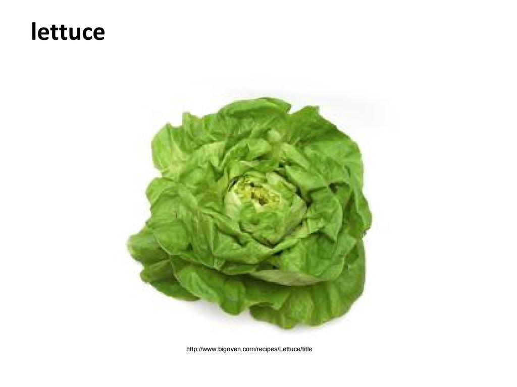 lettuce http://www.bigoven.com/recipes/Lettuce/...