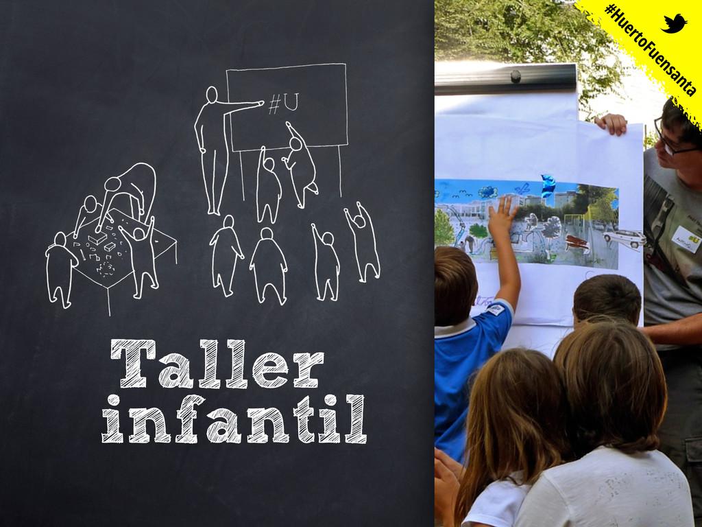 Taller infantil #HuertoFuensanta t