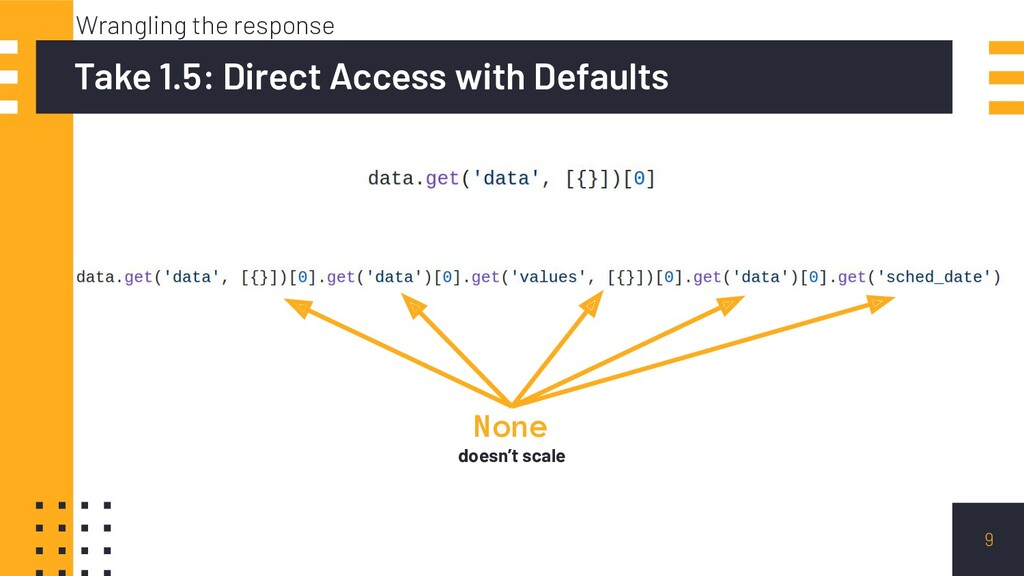 9 Take 1.5: Direct Access with Defaults Wrangli...