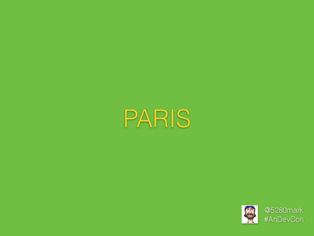 @5280mark #AnDevCon PARIS