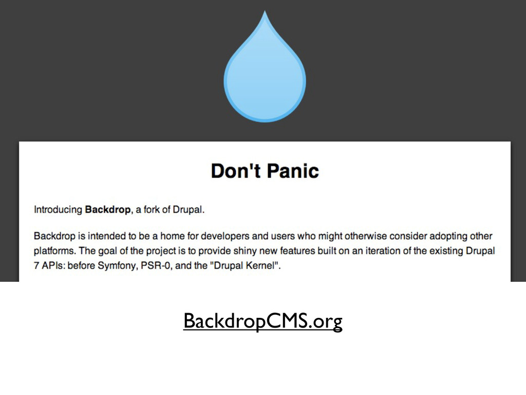 BackdropCMS.org