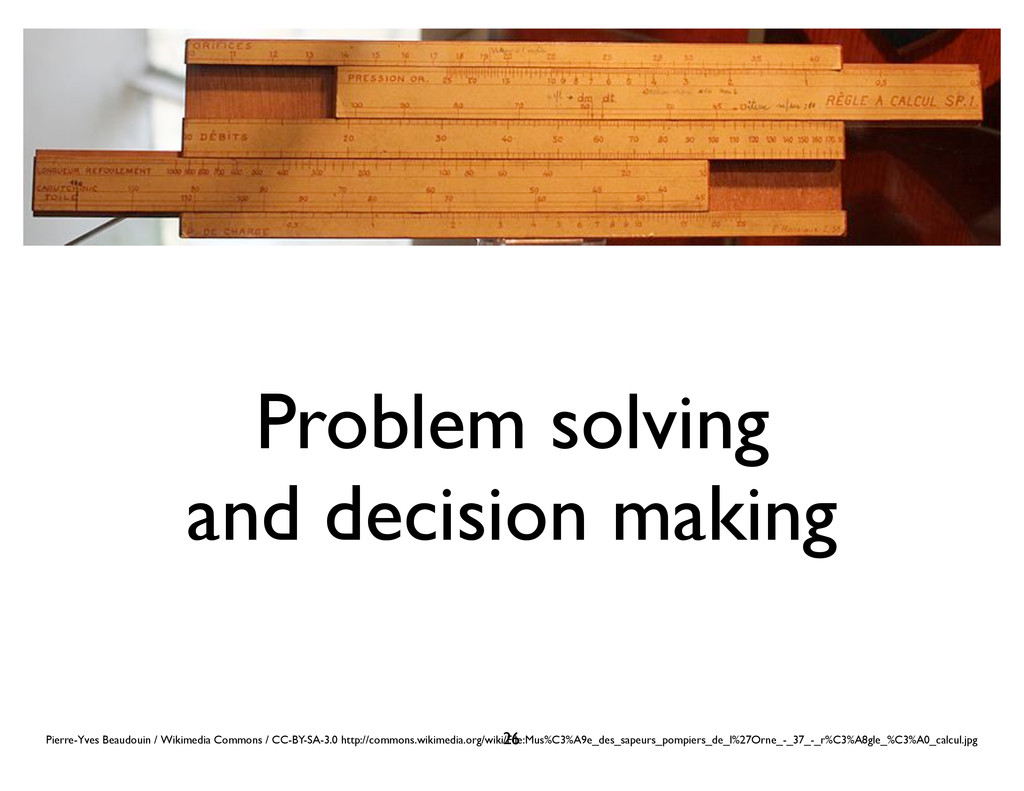 Problem solving and decision making Pierre-Yves...