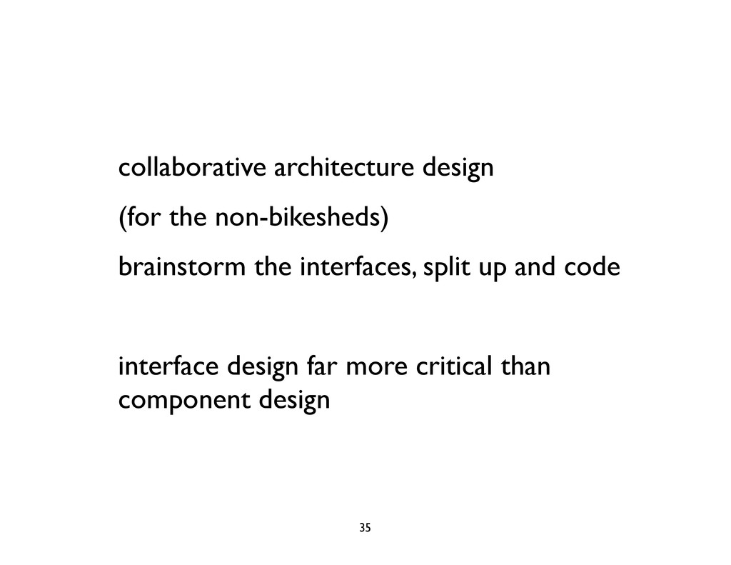 collaborative architecture design (for the non-...