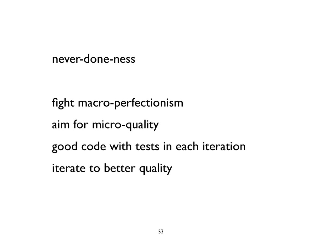 never-done-ness fight macro-perfectionism aim fo...
