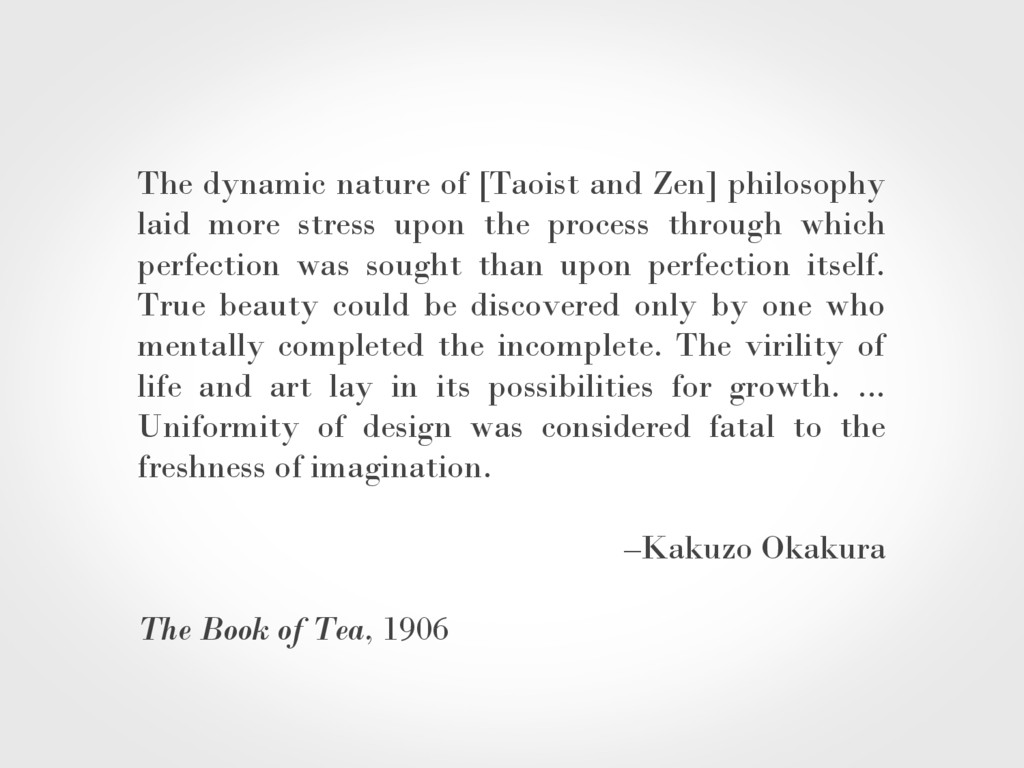 The dynamic nature of [Taoist and Zen] philosop...