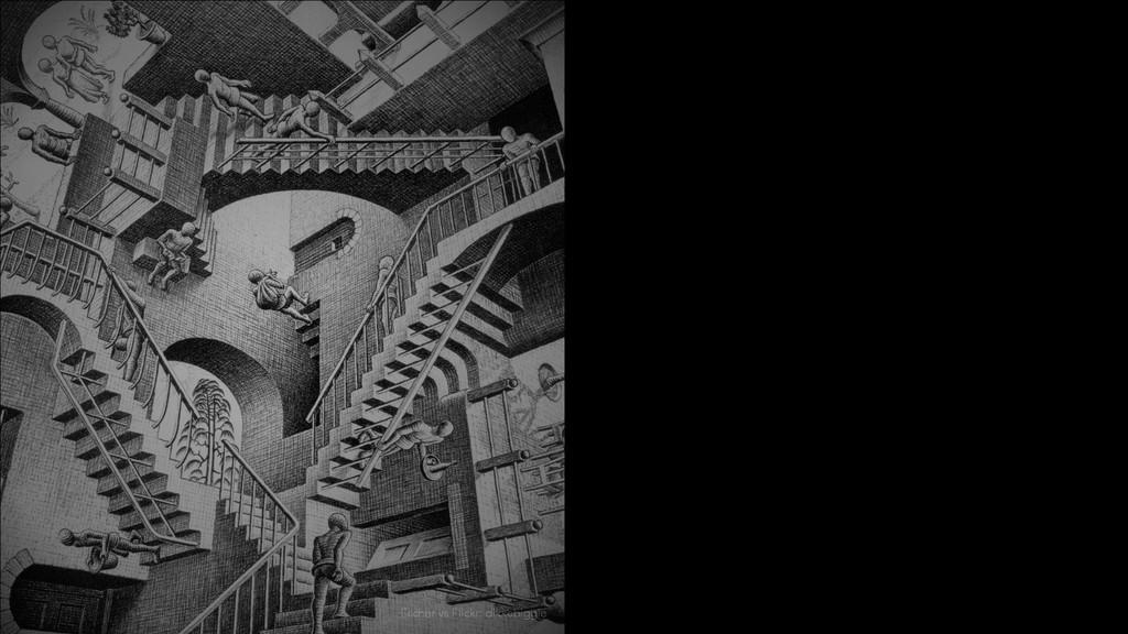 Escher vs Flickr: dikkebiggie
