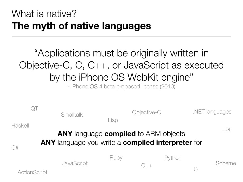 """What is native? The myth of native languages """"A..."""
