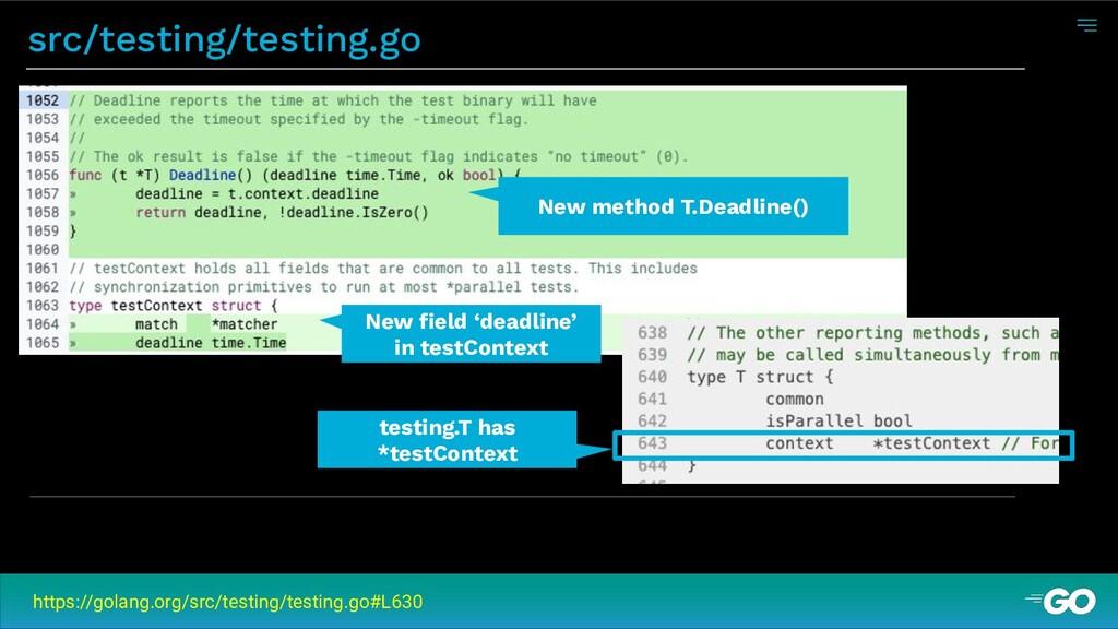 src/testing/testing.go https://golang.org/src/t...