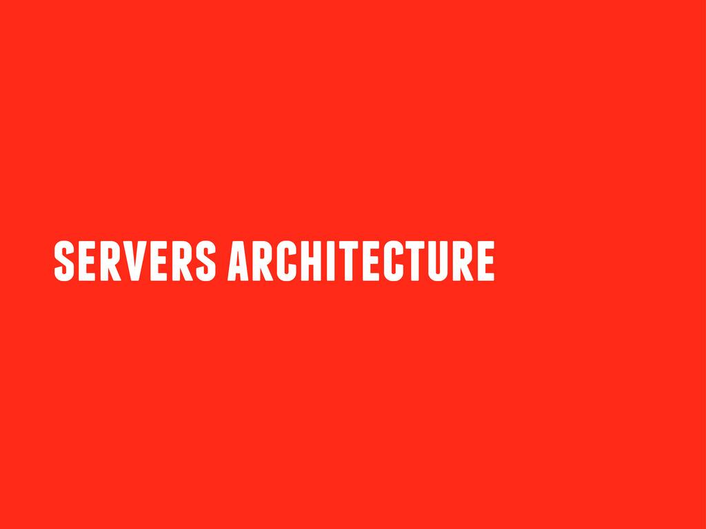 servers architecture