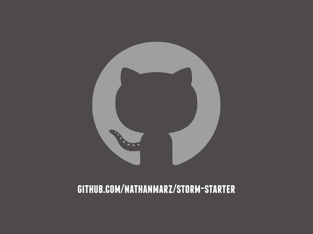 github.com/nathanmarz/storm-starter