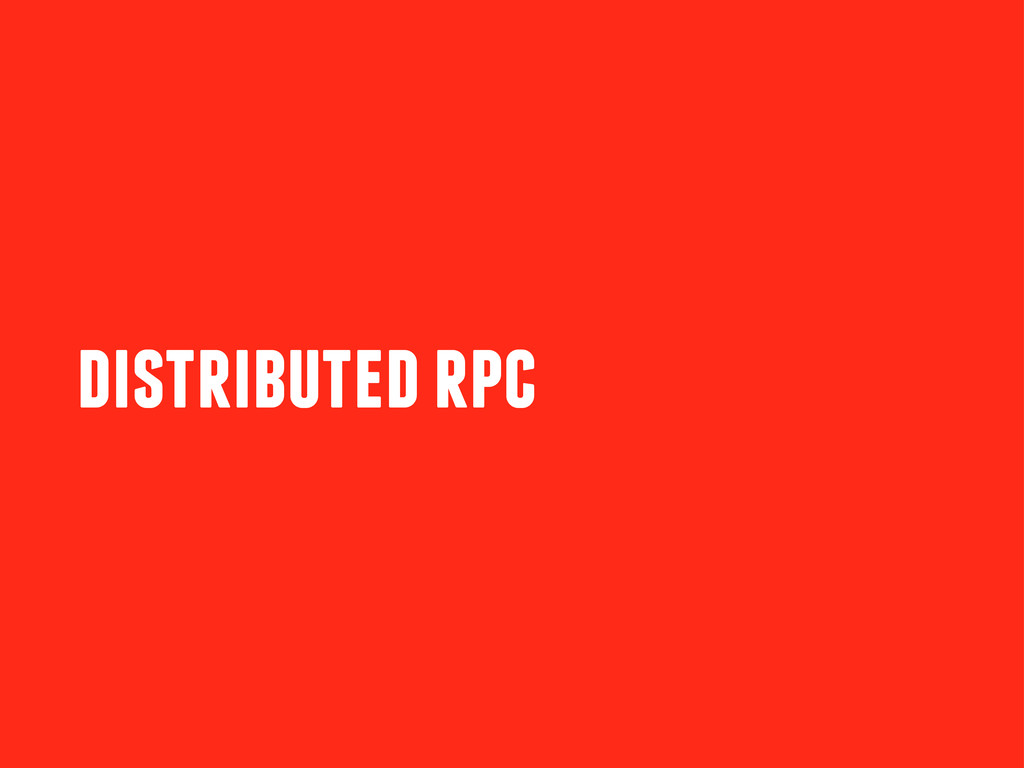 distributed rpc