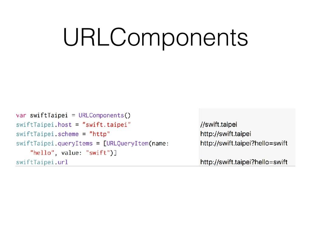 URLComponents